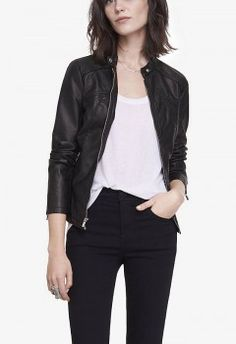 Express - (MINUS THE) LEATHER JACKET (worn by Aria Montgomery on Pretty Little Liars)