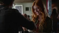 "VIDEO: (1x01) Simon and Clary at Java Jones with Jess Penner's ""Don't Come Over"" playing in the background. #Shadowhunters / Part 6.  Credit: Freeform.  #shadowhunterstv #tmi #abcfamily #themortalinstruments #shadowhunterstvshow"