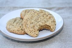 Almond Butter and Chia Seed Cookies