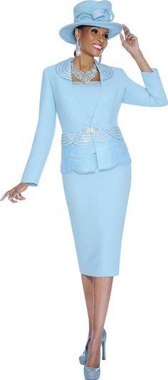 Susanna 3598 Womens 3pc Church Suit