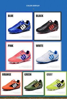 Soccer Cleats Boots Sneakers Football Shoes 2018 new Teenager Boy Hard  Court Outdoor Sports Adult Training f5cc1df1db