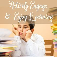 Find out how you can teach your kids to actively engage and ENJOY learning! #homeschooling #dianawaring