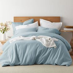 Flannel Duvet Cover & Sham Sets at The Company Store. Eco-friendly organic flannel duvet covers and shams are bushed for a soft, cozy feel. The Company Store Comforter Sale, Bedding Shop, Full Duvet Cover, Duvet Covers, Flannel Duvet Cover, Queen Duvet, King Duvet, The Company Store, Blankets For Sale