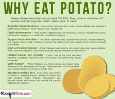 Cooking Tips FM | Why eat Potato from RecipeThis.com