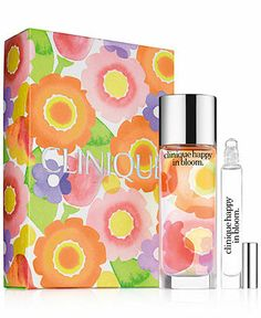 Clinique Happy Blooms Set - A Macy's Exclusive - GIFTS & VALUE SETS - Beauty - Macy's