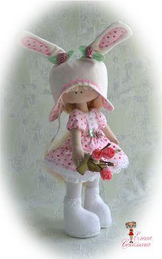 "Muñeca Interiors ""mi conejito)"" | Juguetes - trabajo del autor en Uniqhand"