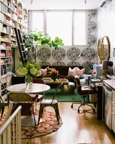 13 Brilliant Tips For Decorating A Small Space Bookshelves