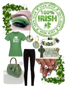 St. Patrick Day Fun by aasisterstouch on Polyvore featuring Gucci and L. Erickson