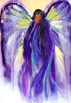 You loved purple Heather ♥ I picture you as this Angel draped in hues of purple. ♥ So beautiful.