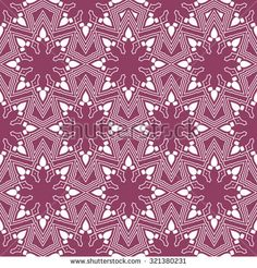 Lace pattern; vector seamless tracery of delicate snowflakes. Christmas; New Year; Winter;