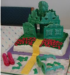 University of Wisconsin Law School Edible Book Festival (pictured: The Wonderful Wizard of Oz)