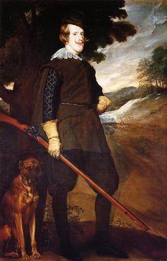 'Philip IV König von Spanien', öl auf leinwand von Diego Velazquez (1599-1660…
