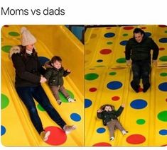 The difference between moms and dads parenting styles