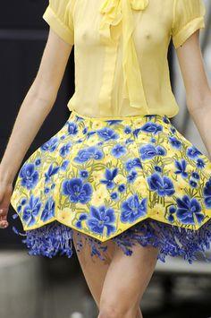 Mary Katrantzou S/S 2011, London Fashion Week