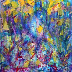 "Saatchi Art Artist Nestor Toro; Painting, ""Us Again "" #art"