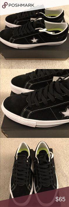 CONVERSE Men s One Star Skate OX Black White Black NEW CONVERSE One Star  Skate OX Black White Black Retail  70 New in Box Size  Men s 10 US 977fb536e