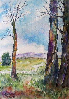 watercolor 20x27- by M. Cristina De Amicis