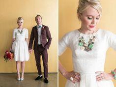 Illume Fey wedding rehearsal dress with swiss dots. $1216 http://www.shop.illumegowns.com/Fey-4547.htm