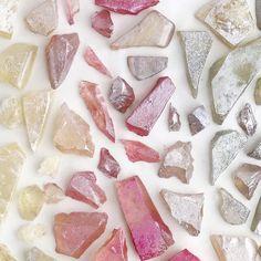 hand-cut and colored sugar rock details ⚒ | Alana Jones Mann