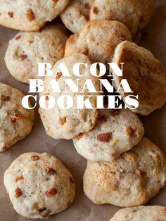Bacon Banana Cookies