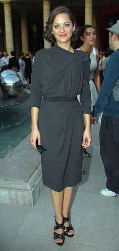 """Marion Cotillard, en Dior A/H07 or Lanvin PF09 a """"La Fete du Cinema"""" Cocktail Launch"""