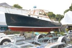 $52,000 1983 Marblehead Ellis 28 Down East Bass Boat 28'