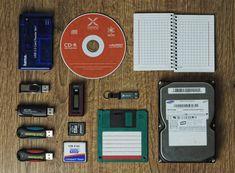 A evolução dos dispositivos de armazenamento
