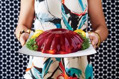 50 Years of Southern Recipes: Molded Cranberry Salad (60s)