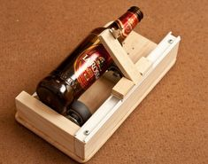 easy glass bottle cutter made up of common parts [UPDATED. again] - All - English Cutting Glass Bottles, Glass Bottle Crafts, Bottle Art, Bottle Cutter, Make Your Own Wine, Woodworking Jigs, Recycled Glass, Cut Glass, Glass Art