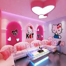 Living Room Sets, Bedroom Wall, Kursi Tamu, Sofa Sofa, Hello Kitty,
