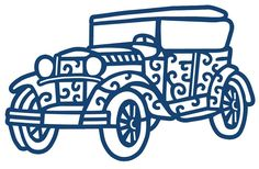 Tattered Lace - Dies - Car,$22.49