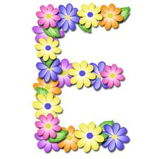 """Pastel Floral"" Free Scrapbook Alphabet in JPG and PNG I will be printing these out and using Modge Podge to paste them to blocks fo. Flower Alphabet, Alphabet Art, Alphabet And Numbers, Letter Art, Printable Alphabet, Floral Letters, Monogram Letters, My Flower, Flower Art"