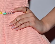Are French Manicures making a comeback? - Why the 90s trend is now more chic than eek