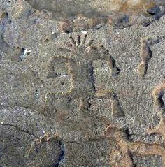 Monster Surf Exposes Rare Petroglyphs in Hawaii