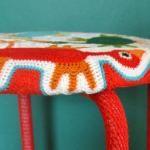 Freeform crocheted Marius