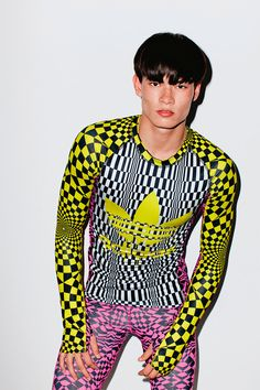 Bold prints and graphics for the winter sport deluxe by Jeremy Scott