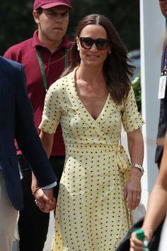 Pippa Middleton Style, Middleton Family, Fashion Wear, Work Fashion, Paris Fashion, Kate And Pippa, Mehendi Outfits, Looks Chic, Wimbledon