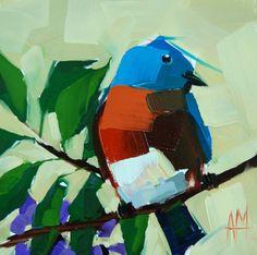 Bluebird no. 50 original Angela Moulton