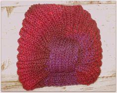Czapka turban damska - Edyta-86 - Czapki na drutach