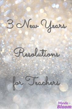 New Years resolutions are sometimes a sore subject, but they can be helpful if planned and executed carefully. As you head into another new year in your classroom, consider these three New Years resolutions for teachers--and take it easy on yourself! Writing Resources, Teaching Strategies, Teaching Tips, Classroom Resources, Classroom Ideas, Teaching Quotes, Autism Classroom, Future Classroom, Teacher Resources