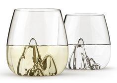 Escape - Mountainous Glass Tumblers