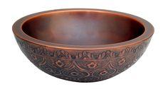 Copper Round Bath Sinks