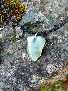 Big Sur Jade Necklace: Gem Quality by SmithNJewels on Etsy