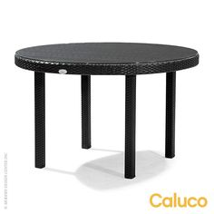 Dijon Round Dining Table by Caluco available at LoftModern.com #patiofurniture #caluco #dijon