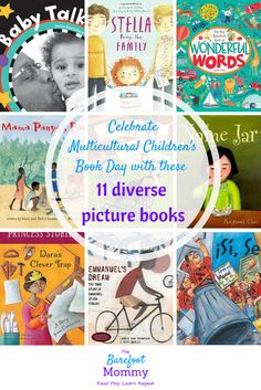 In honor of Multicultural Children's Book Day, I'm sharing 11 of our family's favorite diverse picture books (plus a discussion guide that's great for the classroom or kids' book clubs.)