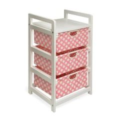 Badger Basket Lightweight Three Drawer Hamper/Storage Unit, (storage, furniture, organization, organizer, changing table, nursery storage, basket storage, hampers, inexpensive furniture, organizers)