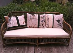 Hit the refresh button on your patio and garden furniture! See my Wing N' A Prayer Fabric on my site: ww.dianeericson.com