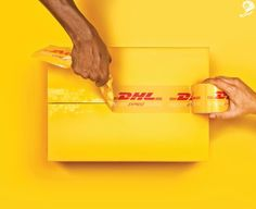 SILVER - CAMPAIGN AWARD - CANNES LIONS  Dhl Hands - Ripped DHL GREY WORLDWIDE INDIA, MARURI GREY 2015  PRESS  PRODUCT & SERVICE  BUSINESS EQUIPMENT & SERVICES Entered by: GREY WORLDWIDE INDIA