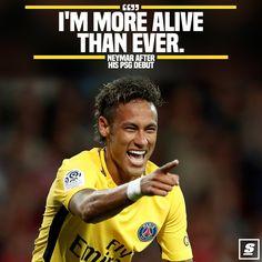 Neymar bahagia di klub barunya