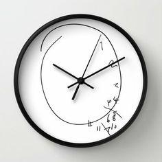 Savoureux - Hannibal Clock Wall Clock by Olivia Desianti